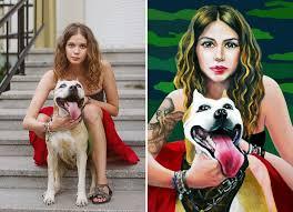 vera pavlova photography anna rukosueva photo to painting