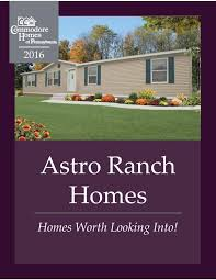 pennwest homes modular ranch floor plans 2016 by the commodore