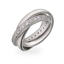 russian wedding ring style russian wedding ring with cz band s addiction