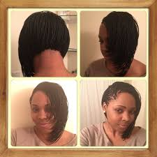 my new staci cook micro bob plaits my hair is layed like