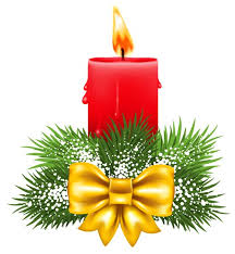 Decoration Christmas Png by Transparent Christmas Red Candle Png Clipart Christmas Clipart
