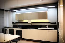 Black White Kitchen Futuristic Interior Apartment Design In Bulgaria By Bozhinovski