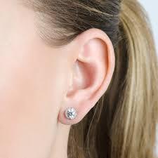 what size diamond earrings should i buy best size diamond studs basement wall studs