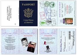 designs passport wedding invitation templates free plus passport