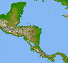 Map Of Central America Quiz by Central America Map Stock Photo Stock Images Bigstock Political