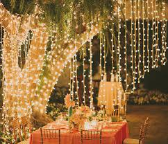 9 unique ways to light up your yard dinning table fresco and