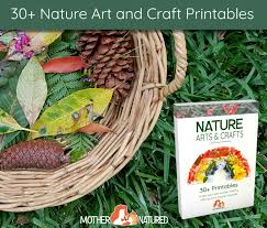 nature art ideas u0026 nature crafts for kids printable pdf pack
