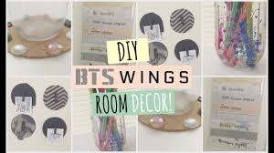 Diy Bedroom Decor by Diy Bts Wings Room Decor Youtube