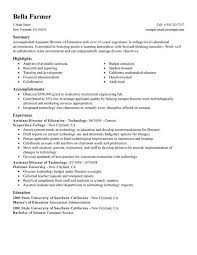 Educator Resume Example by Preschool Assistant Teacher Resume Best Resume Collection