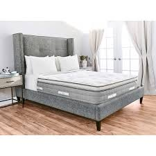 Brentwood Home Page by Brentwood Home Sequoia Euro Pillow Top King Mattress
