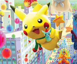 through the years pikachu the macy s thanksgiving day parade