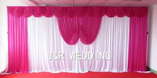 Fuchsia Pink Curtains Curtains Withe Picture More Detailed Picture About 1pcs Moq 10ft