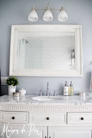 White Bathroom Lights Bathroom Renovations Budget Tips