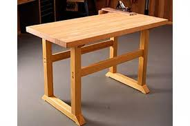 Plans For Building A Wood Workbench by Free Simple To Build Workbench Woodworking Plan