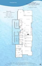 floor plans point chesapeake offer waterfront views