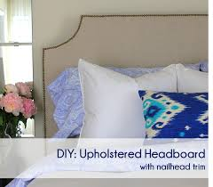 Diy Pillow Headboard Cup Half Full Diy Upholstered Headboard Tutorial