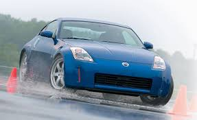 Nissan 350z Blue - nissan 350z road test reviews car and driver
