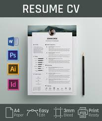 free resume design templates free resume cv design template cover letter in doc psd ai