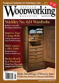 General Woodworking Magazine Reviews by August 2014 212 Popular Woodworking Magazine