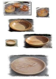 assiettes en bois des trucs en bois