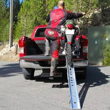motocross bike lift folding single runner dirt bike loading ramp 7 u0027 long discount ramps