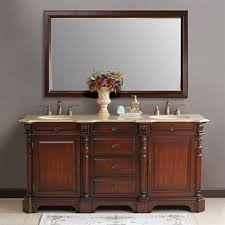 Furniture Style Bathroom Vanities Bathroom Accessories Tuscan Vanity Cabinets Mirror And Intended