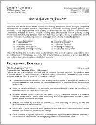 Corporate Resume Templates Executive Resume Template Haadyaooverbayresort Com