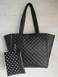 patron couture sac cabas tutoriel du sac cabas clara en simili cuir les créations de dehem