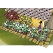 Shrub Garden Ideas Side Of Garage Garden 4 Ways