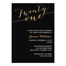 elegant 21st birthday invitations u0026 announcements zazzle com au