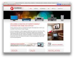 website homepage design ux ui web design front end development on behance