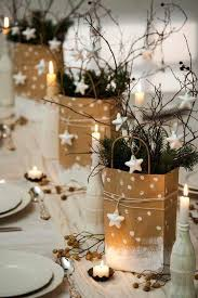 White Christmas Ornaments Diy by Best 25 Christmas Table Centerpieces Ideas On Pinterest