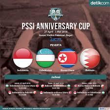 detiksport jadwal sepakbola indonesia anniversary cup 2018