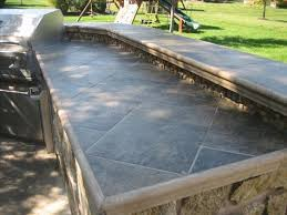 outdoor kitchen countertop ideas outdoor kitchen tile countertop ideas for outside the house