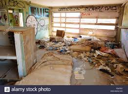 an abandoned house in bombay beach california on the eastern