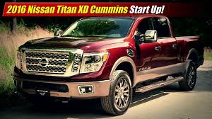Toyota Tacoma Cummins Start Up 2016 Nissan Titan Xd Cummins Testdriven Tv