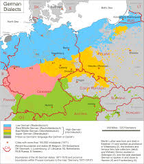 Map Of German States by Maps Of German Dialects Skadi Forum