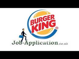 burger king job application process youtube