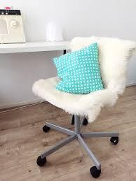 ikea hack u2022 furry desk chair u2022 make it extraordinary