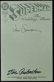 superman the wedding album online sports memorabilia auction pristine auction