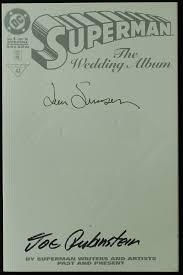 superman wedding album online sports memorabilia auction pristine auction