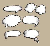 doodle sketch speech bubbles stock photos freeimages com