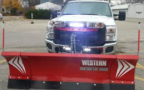 Snow Plow Lights Hiniker Snow Plow Services Snow Removal Accessory