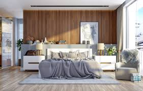 9 wooden style of bedrooms give casual impression roohome