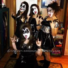 kiss girls group costume group costumes halloween