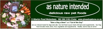 as nature intended menu for raw natural holistic dog food and