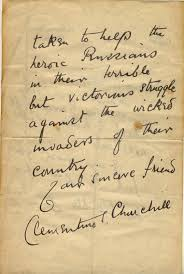 barbara taylor bradford my cherished letter from clementine churchill