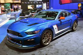 mustang ricer 2015 ford mustang invades sema led by king cobra localized