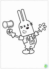 wow wow wubbzy coloring pages coloring