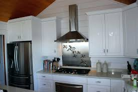 kitchen stove backsplash stainless steel stove backsplash stainless steel stove